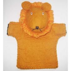 Felt Hand Lion puppet