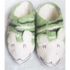 Felt Tiger Slippers-2