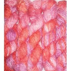Higher Best Quality Tie-dye Recycled Silk Yarn-B