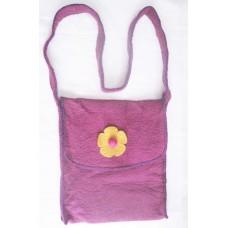 Crochet Folding Felt Bag