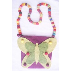 Butterfly Balls handle Bag