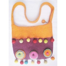 Felt Craft bags with Single handles