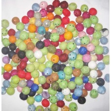 2cm Round Tic-tic Felt balls assorted colors