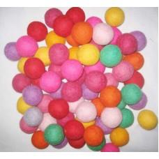 6cm Diameter Felt balls