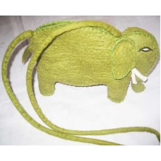 Felt Bags In Elephant Design