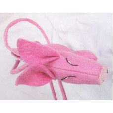 Felt Pig Design Bag