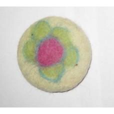 Felt Circle Balls Flower
