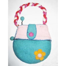 Baby hand felt bag