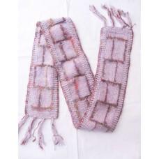 Woolen Silk Scarve Hand Knitted