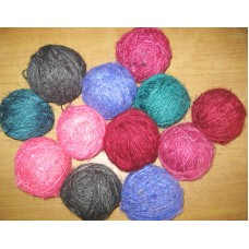 Higher Best Recycled silk balls in solid colors