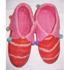 Felt Cutting Folding Lining Shoes-A