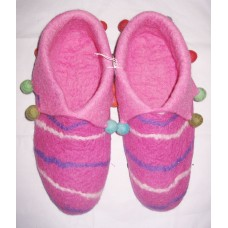 Felt cutting Folding Lining Shoes-D