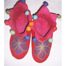 Felt Cutting Beth Flower Shoes