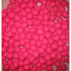 Strong Pink Felt Balls