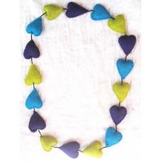 Felt Heart Necklace