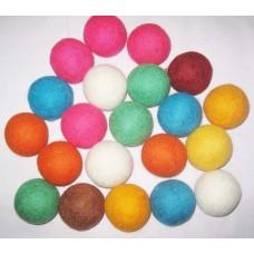 4inch diameter felt balls-100pack