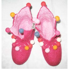 Cutting Pom-poms Wool felt Shoes