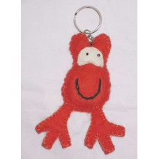 Nepal Felting Key Chain