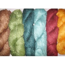 Viscose Yarn In Separate Colors