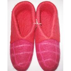 Check Folding Felt shoes