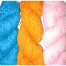 Wool Yarn In Separate Colors