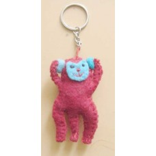 Felt Animal Design Key chain