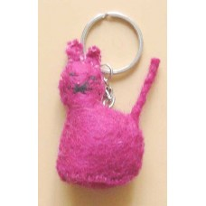 Felt Animal Design Key Chain-A