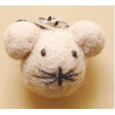 Felt Animal Design Key Chain-C