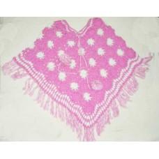 Woolen hand Crochet Ponchos