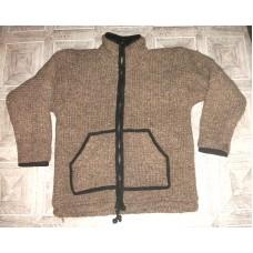 Woolen Single Color Jacket