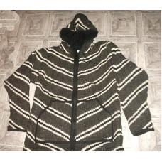Lining Hooded Woolen Jacket