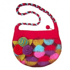 Wool Peti Gamala Cherry bag