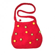 Felt Ball Droped Bag