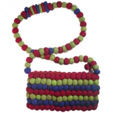Round Felt Ball Bag
