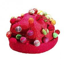 Felt Tiedye Balls Hats