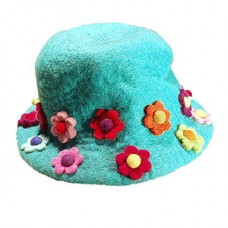 Felt  Many Flowers Hat
