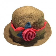 Felt Cherry Fashion Hat