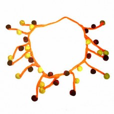Felt Rope Balls Necklace