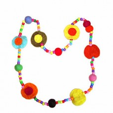 Beaded Flet Necklace