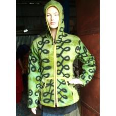 Hooded Woolen Knitting Jackets