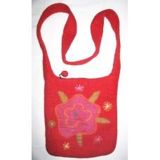 Ladies Felt Shoulder Bag
