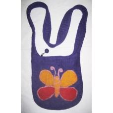 Butterfly Felt Shoulder Bag