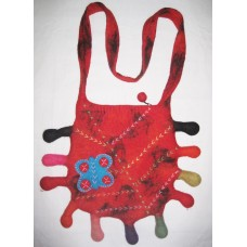Crochet Funky Felting Bag