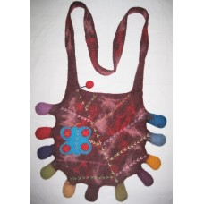 Crochet Funky Felting Bag-a