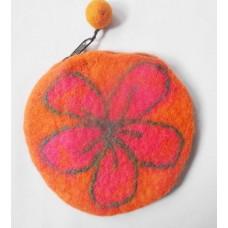 Round design Beth Flower purse