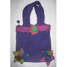 Felt Peti Cherry Flower Bag