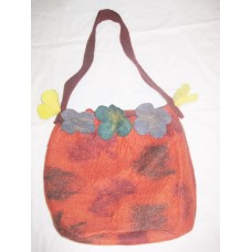 Tiedye 5 Flower Felt bag-1