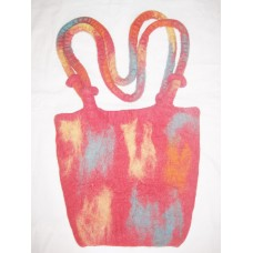 Double Handle Tiedye Bag