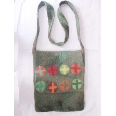 Folding Sign Ladies Felt Bag