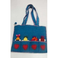 Wool felt Puppet Bag